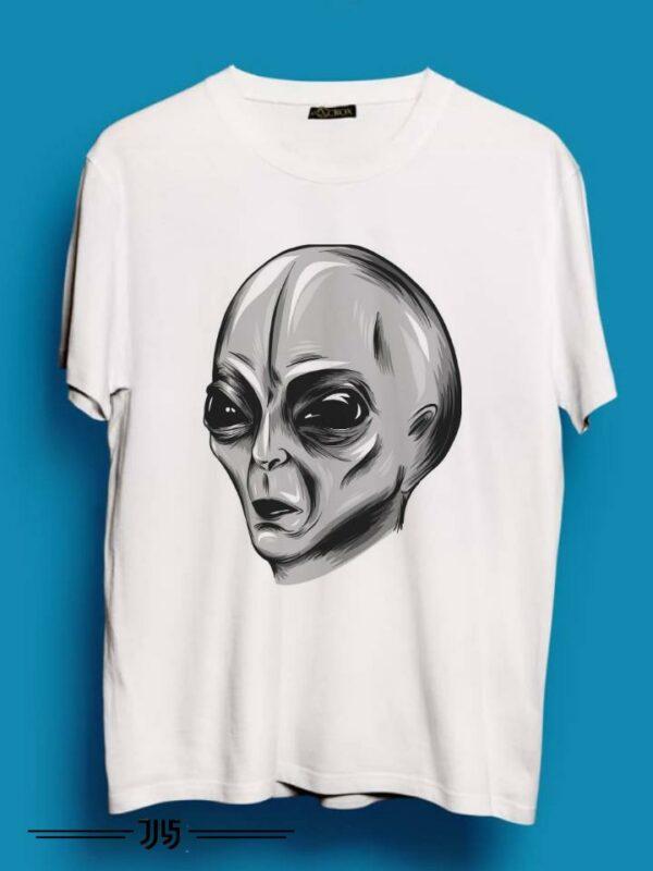 خرید تیشرت مردانه طرح آدم فضایی