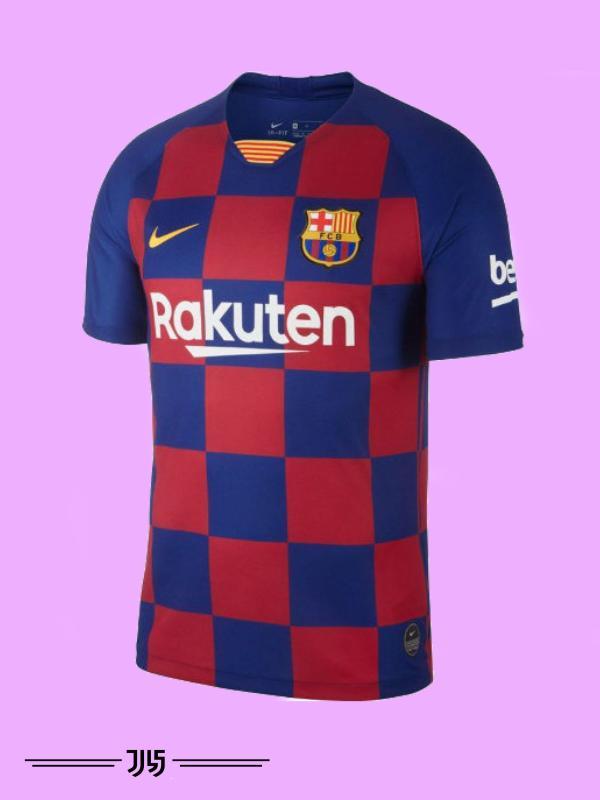 پیراهن باشگاهی تیم بارسلونا