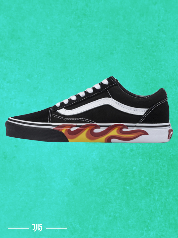 کتونی مردانه Vans Old Skool Fire Sole