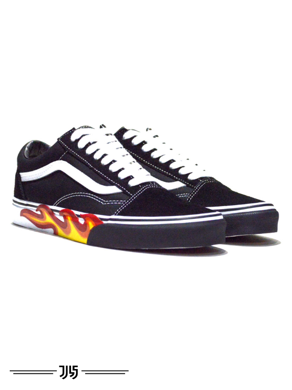 کتونی زنانه Vans Old Skool Fire Sole