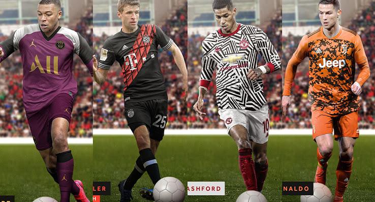 لو رفتن لباس تیم های فوتبال مشهور در فصل 21-20