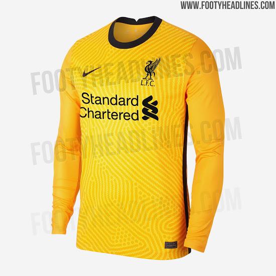 لباس دروازه بانی تیم فوتبال لیورپول برای فصل جدید 21-20