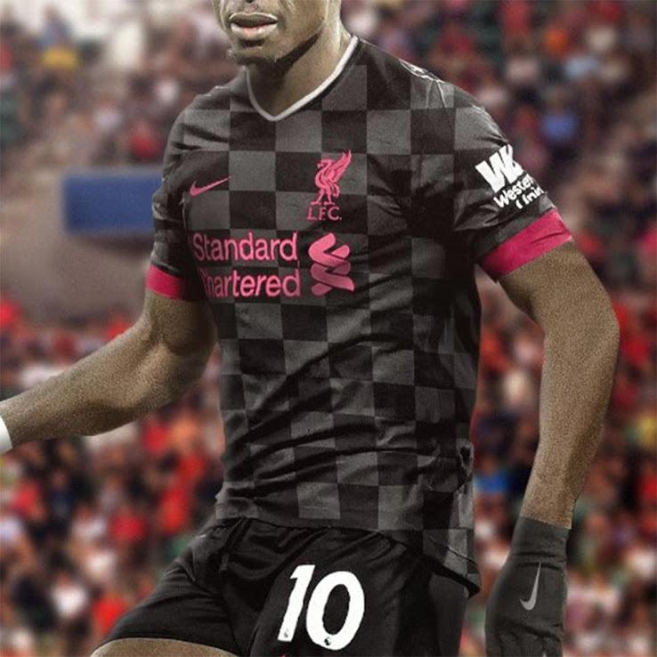 لباس سوم تیم فوتبال لیورپول برای فصل جدید 21-20