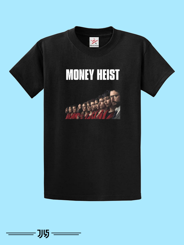 تیشرت مردانه طرح money heist