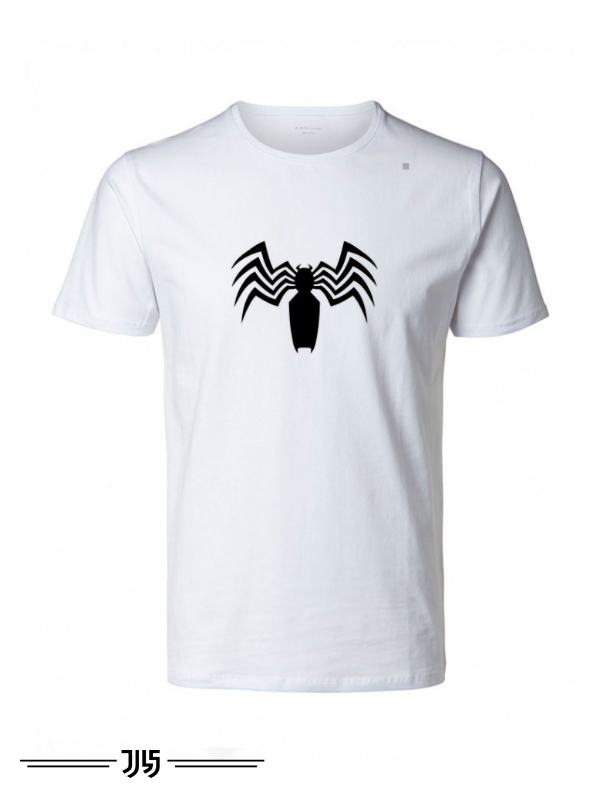 تیشرت مردانه طرح عنکبوت