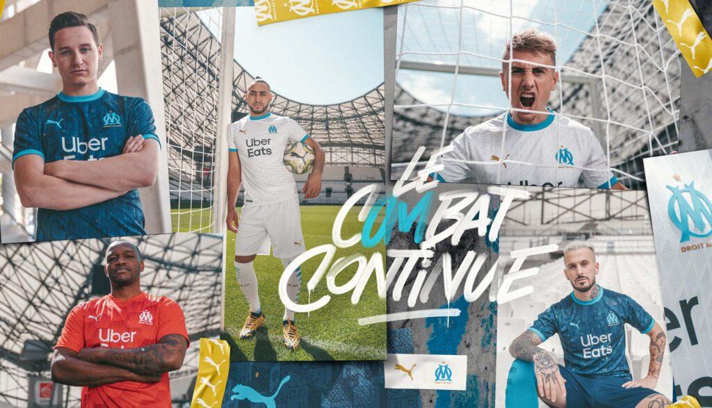 پوما رسما پیراهن اول تیم فوتبال المپیک مارسی را در فصل 2021 معرفی کرد
