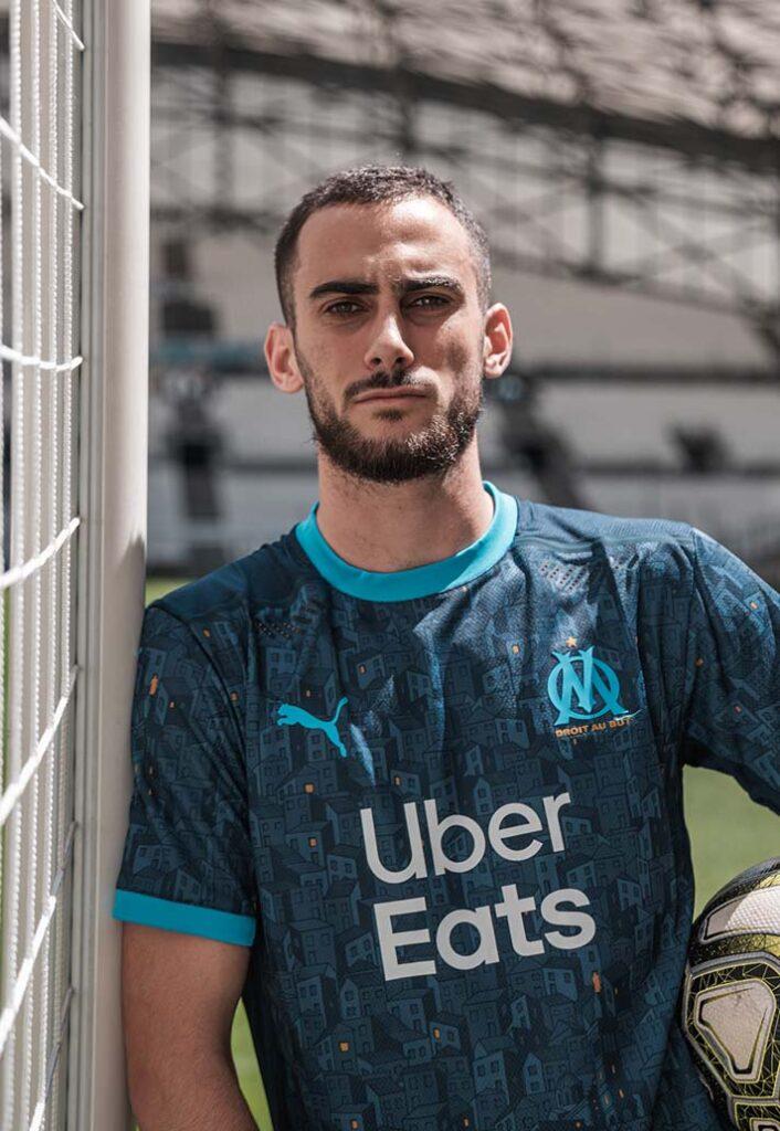 پوما رسما پیراهن تیم فوتبال المپیک مارسی را در فصل 2021 معرفی کرد