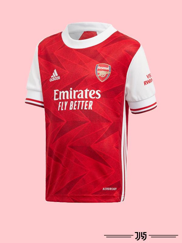 لباس اول تیم آرسنال 2021
