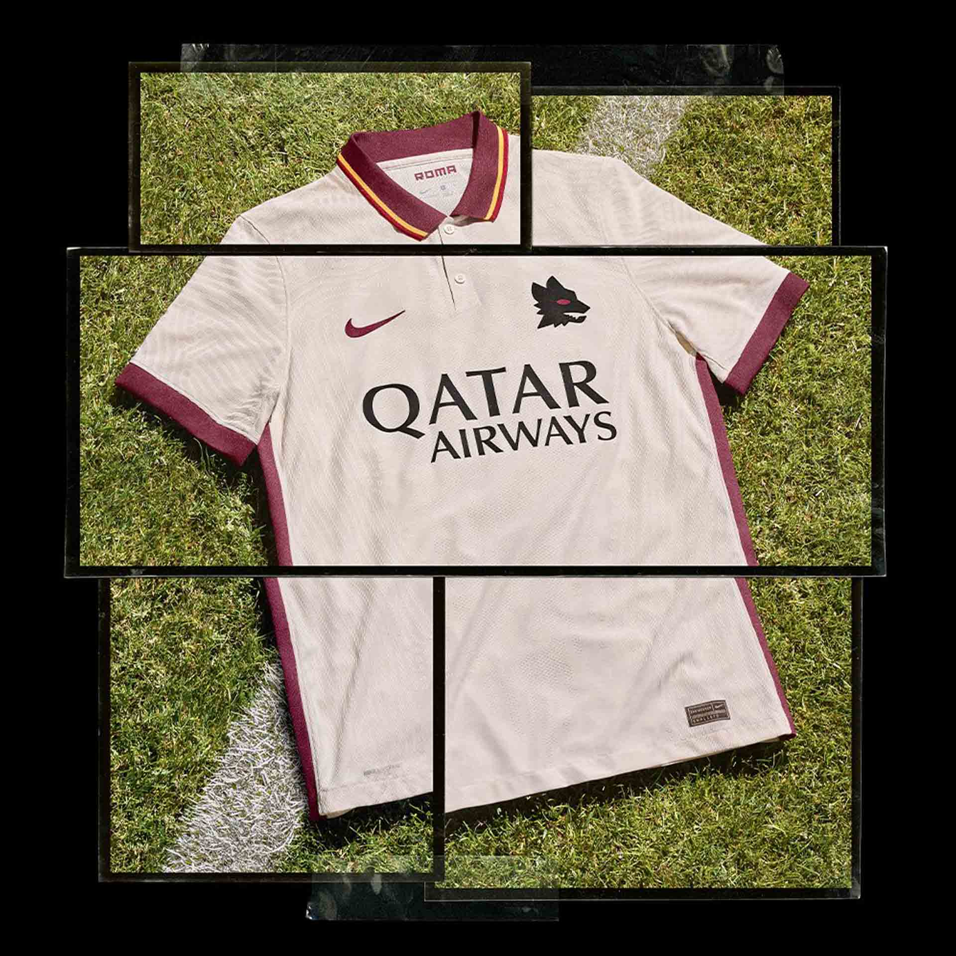 پیراهن دوم تیم فوتبال آ اس رم 2021
