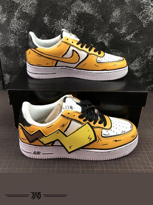 کتونی مردانه Nike Air Force 1 Pikachu
