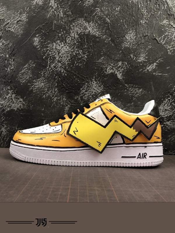 کتونی مردانه Nike Air Force 1 Pikachu