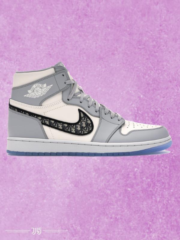 کتونی مردانه Nike Air Jordan 1 Dior