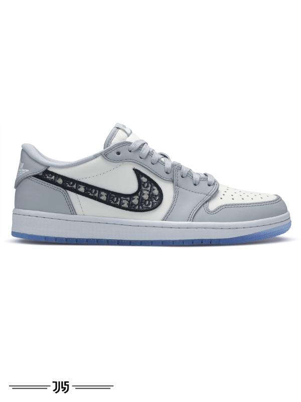 کتونی زنانه Nike Air Jordan 1 low Dior