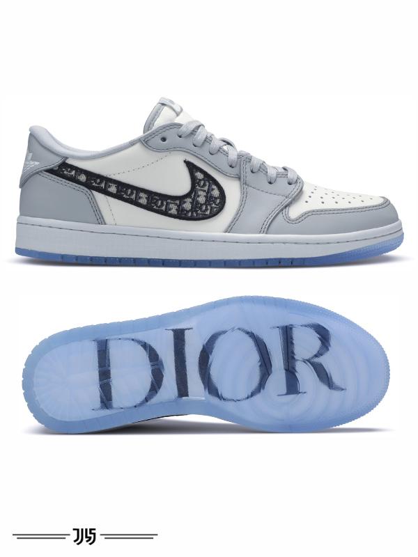 کتونی مردانه Nike Air Jordan 1 low Dior