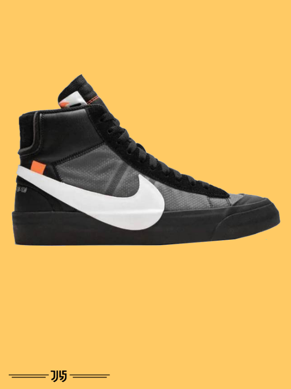 کتونی ساقدار مردانه نایک Nike Blazer Off White