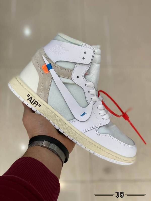 کتونی مردانه Nike Air Jordan 1 Off White